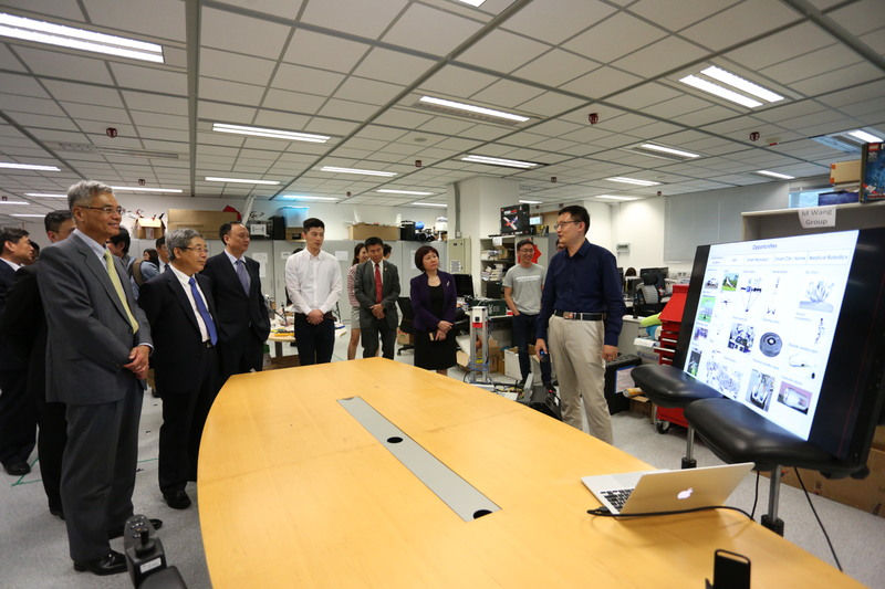 The Minister of Education of China visited us