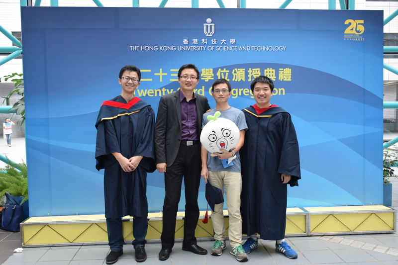 Ming Participated the Congregation at HKUST