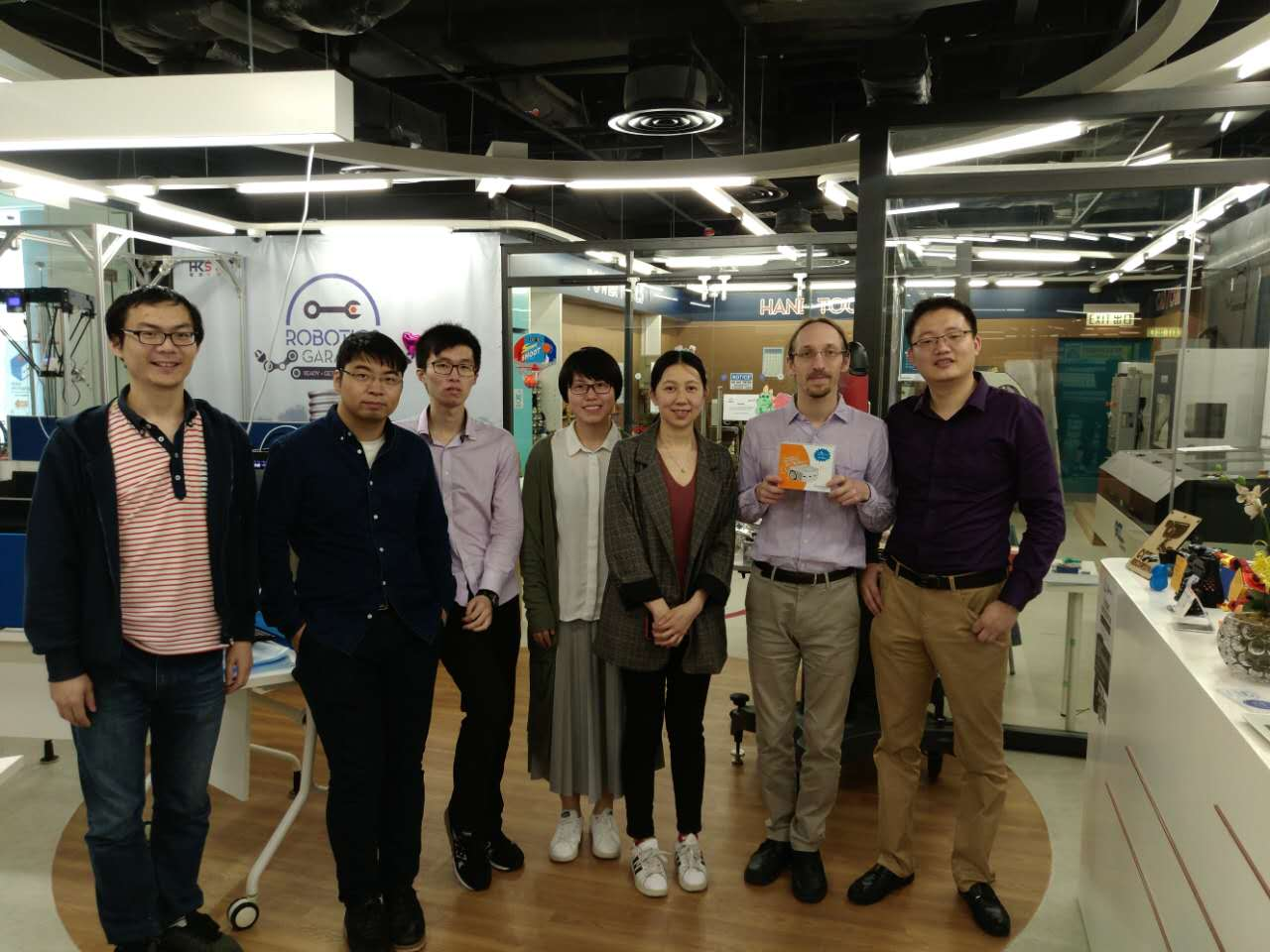 Successfully held Educational Robot Workshop at HKSTP